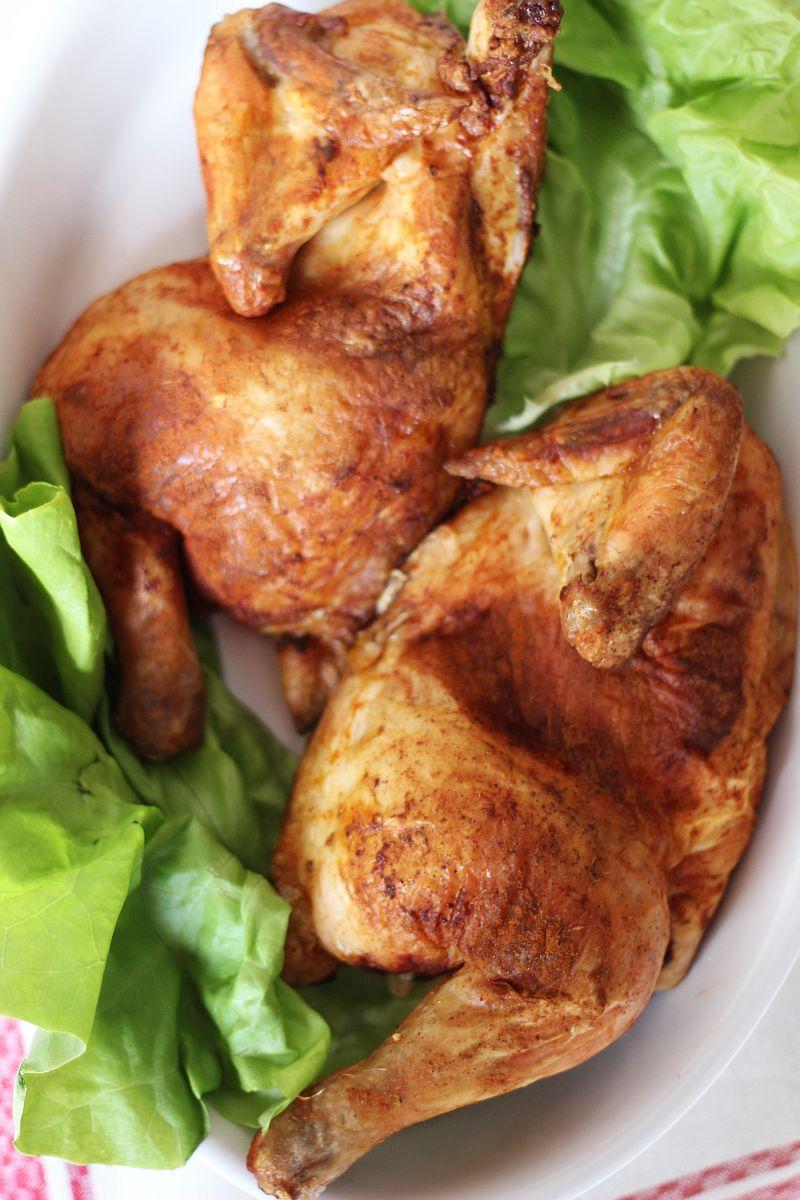 Kurczak pieczony na soli