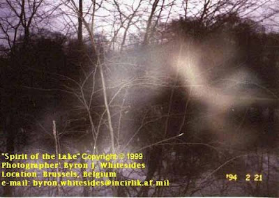 Real Ghost Photo: Spirit of the Lake