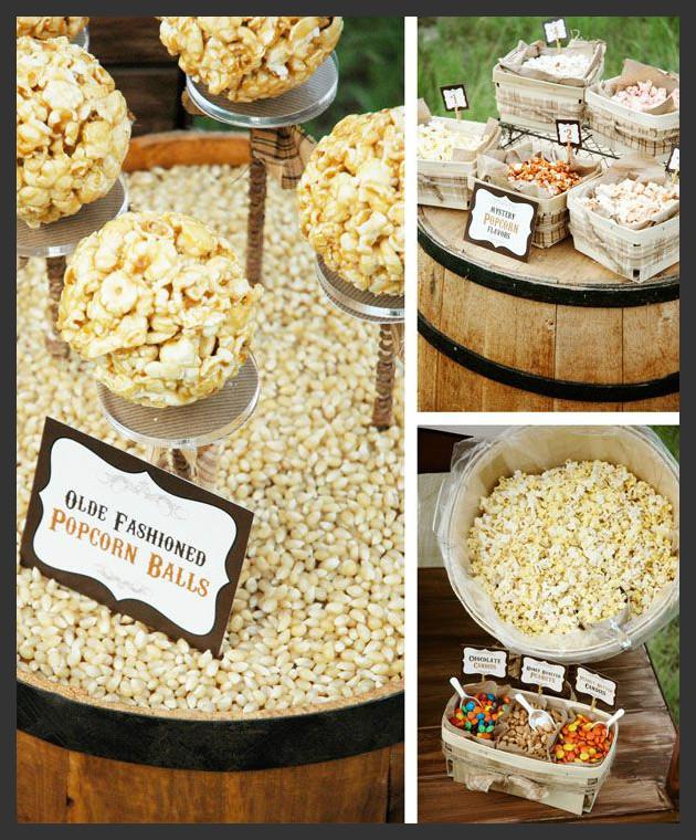 Once upon a wedding wedding food bar ideas for Food bar ideas