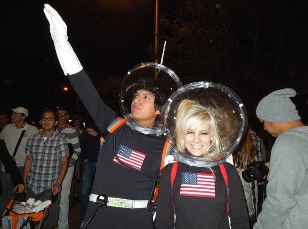 West Hollywood Halloween Astronaut costumes