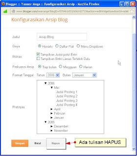Cara Mengunci Widget Pada Blogger/Blogspot Versi Baru