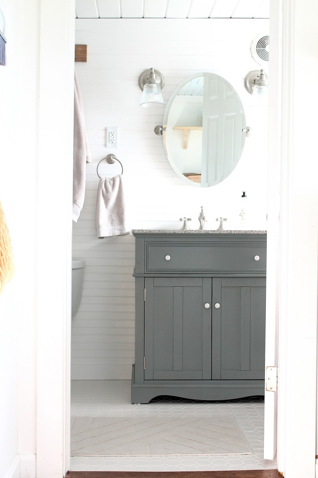 Keeping It Cozy: The Downstairs Bathroom Remodel