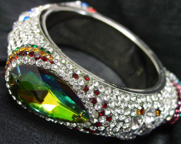 rhinestone bangle viktorviktoriashop.com