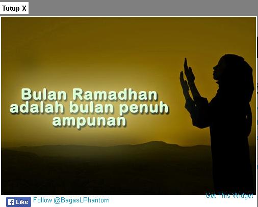 Cara Membuat Pop Up Pesan Ramadhan Di Blog