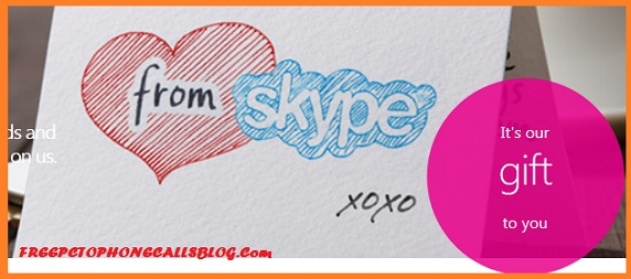Skype Unlimited Free Calls for one month