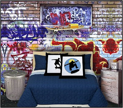 teen boys sports theme bedrooms residence furniture ideas