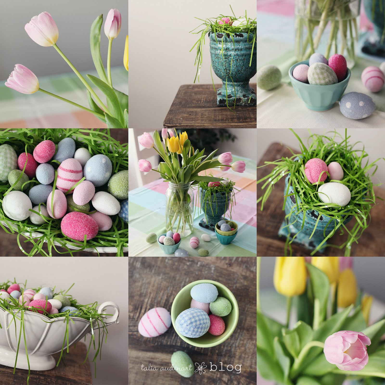 Pieces of me easy easter decor for Decoration de table