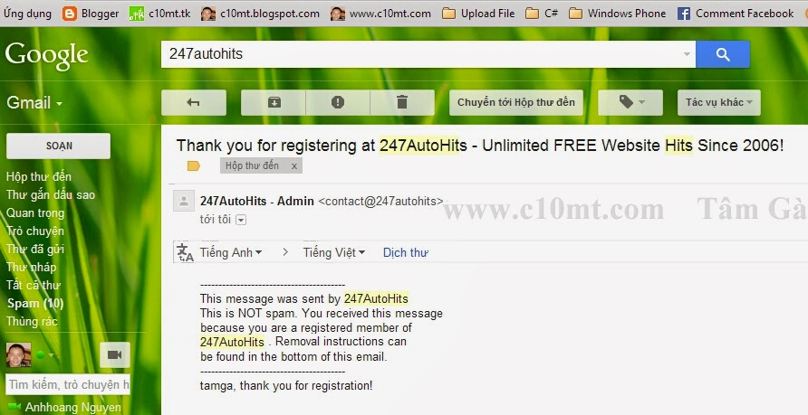 247autohits unlimited free registering