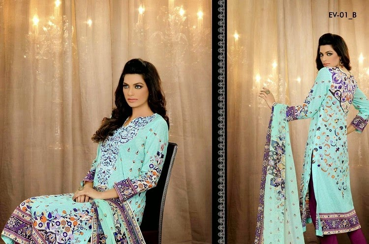 Five Star Embroidered Eid Dresses