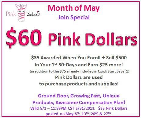 Pink zebra home coupon code