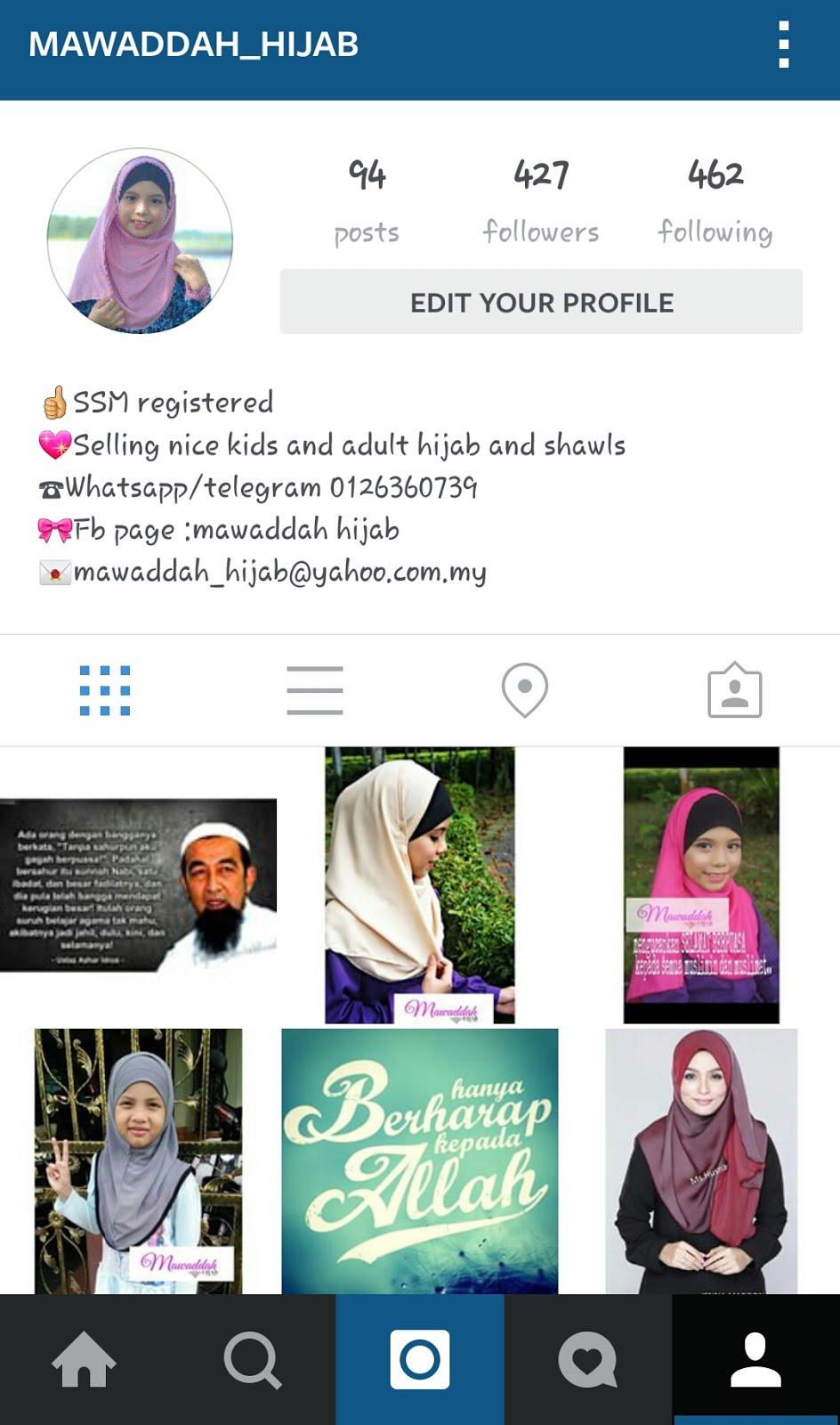 Mawaddah_hijab instagram
