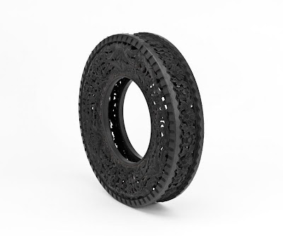 Cool and Creative Hand Carved Car Tires (15) 8