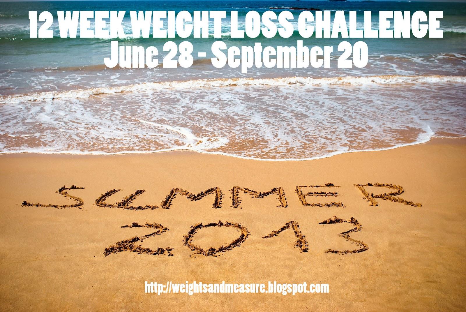 Summer 2013 12 Week Challenge