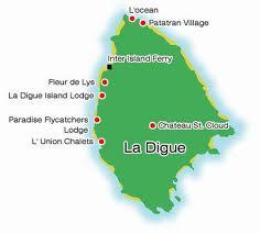 la digue, seychelles Location 2012