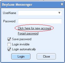 Tutorial Chat Room Beyluxe Messenger