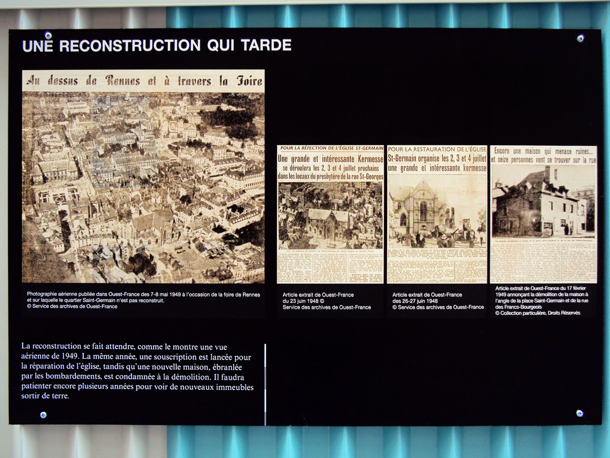 Une reconstruction qui tarde