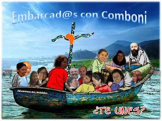 ¡Embarcad@s con Comboni! ;)