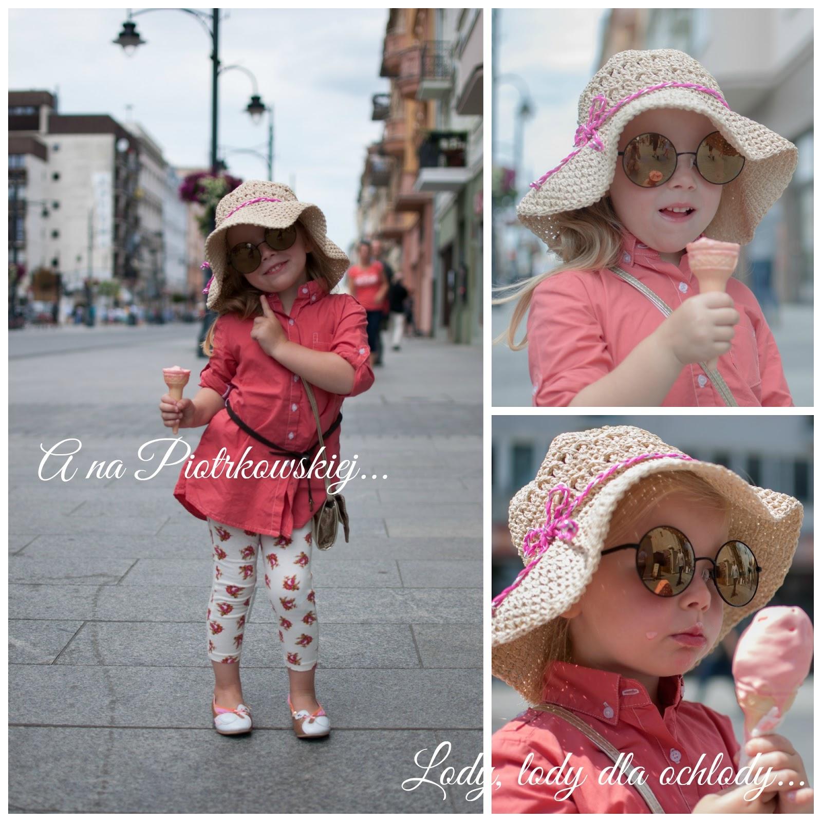 moda kapelusz dziewczynka