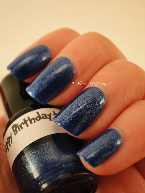 LynBDesigns Happy Birthday to You Blue