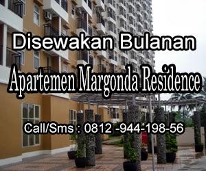Disewakan Apartemen Margonda Residence