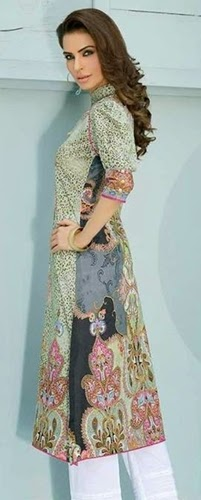 Five Star Digital Printed Kurtis