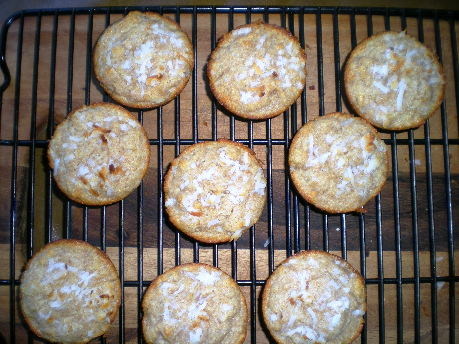 Double Coconut Muffins ~ From Anne's Kitchen