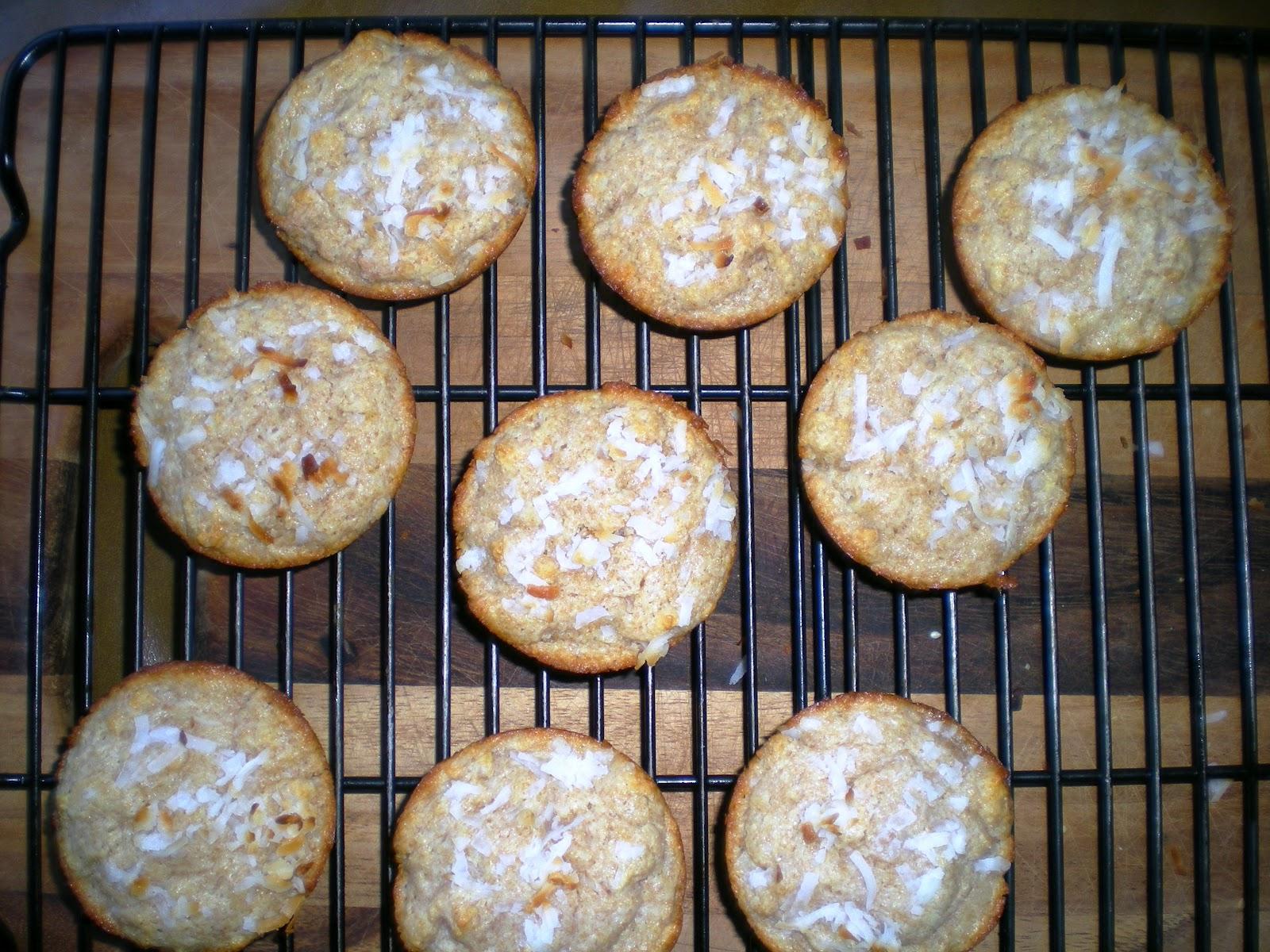 Double Coconut Muffins Recipe — Dishmaps