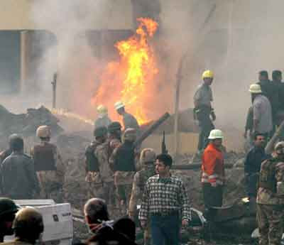 Baghdad suicide Bomb Blast