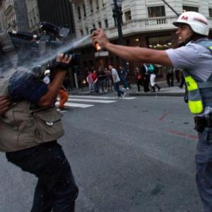 Polícia Militar libera uso de vinagre em manifestações