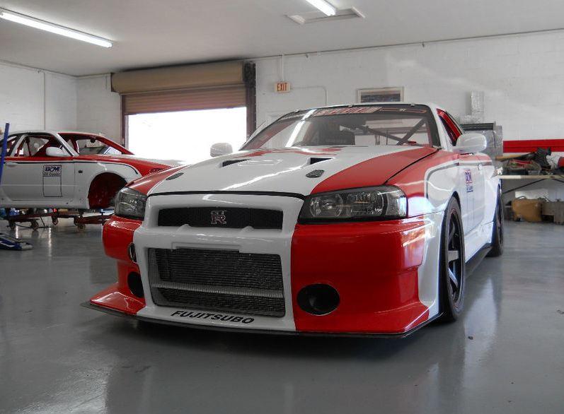 Nissan Skyline Gt R Race Car For Sale Com