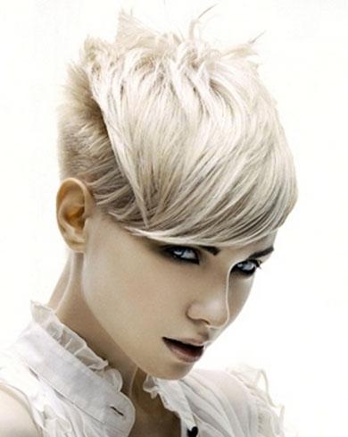Short Cutting Edge Hair Style 2013