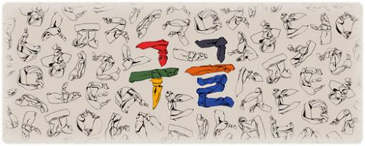 Doodle de Google conmemorando el Día del Hangeul de 2014