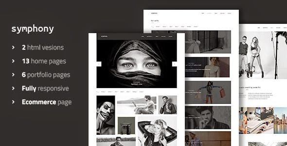 Best Clean Photography & Portfolio Template