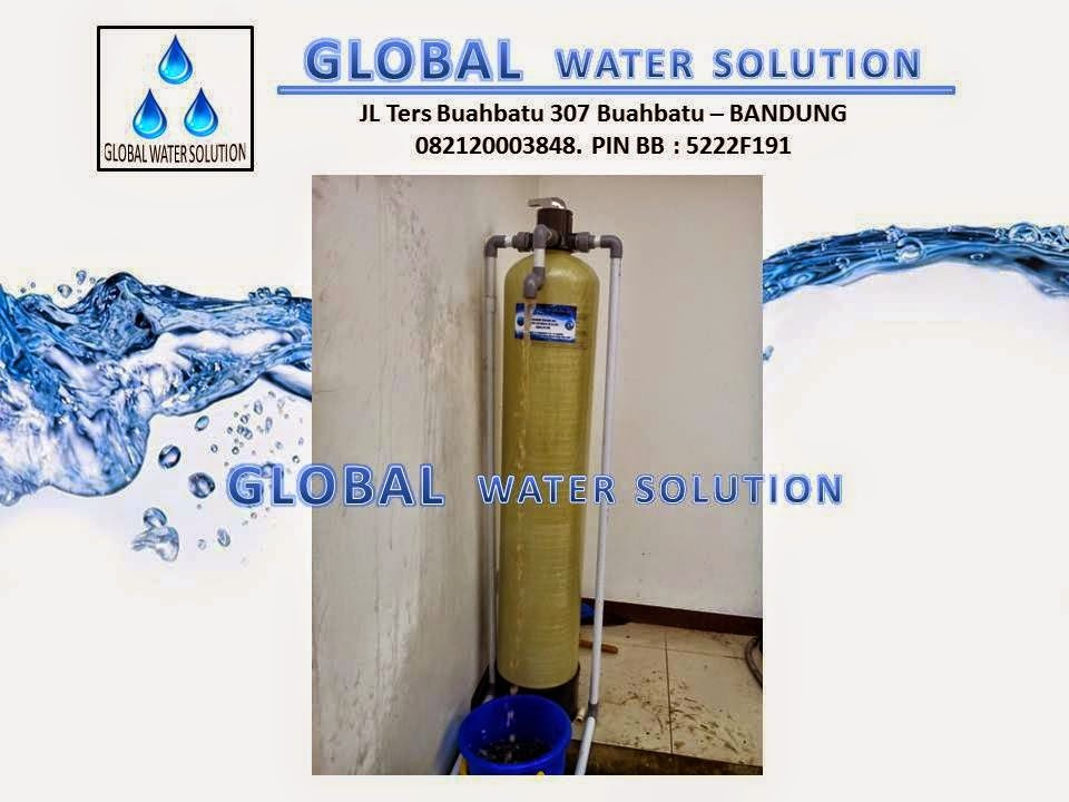global water solution filter air bergaransi