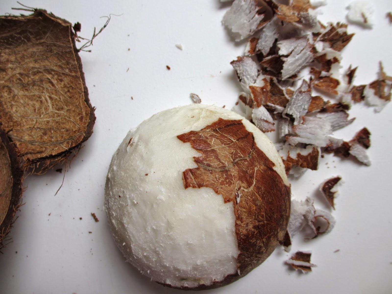 Couper Noix De Coco cooking julia : noix de coco fraÎche rÂpÉe