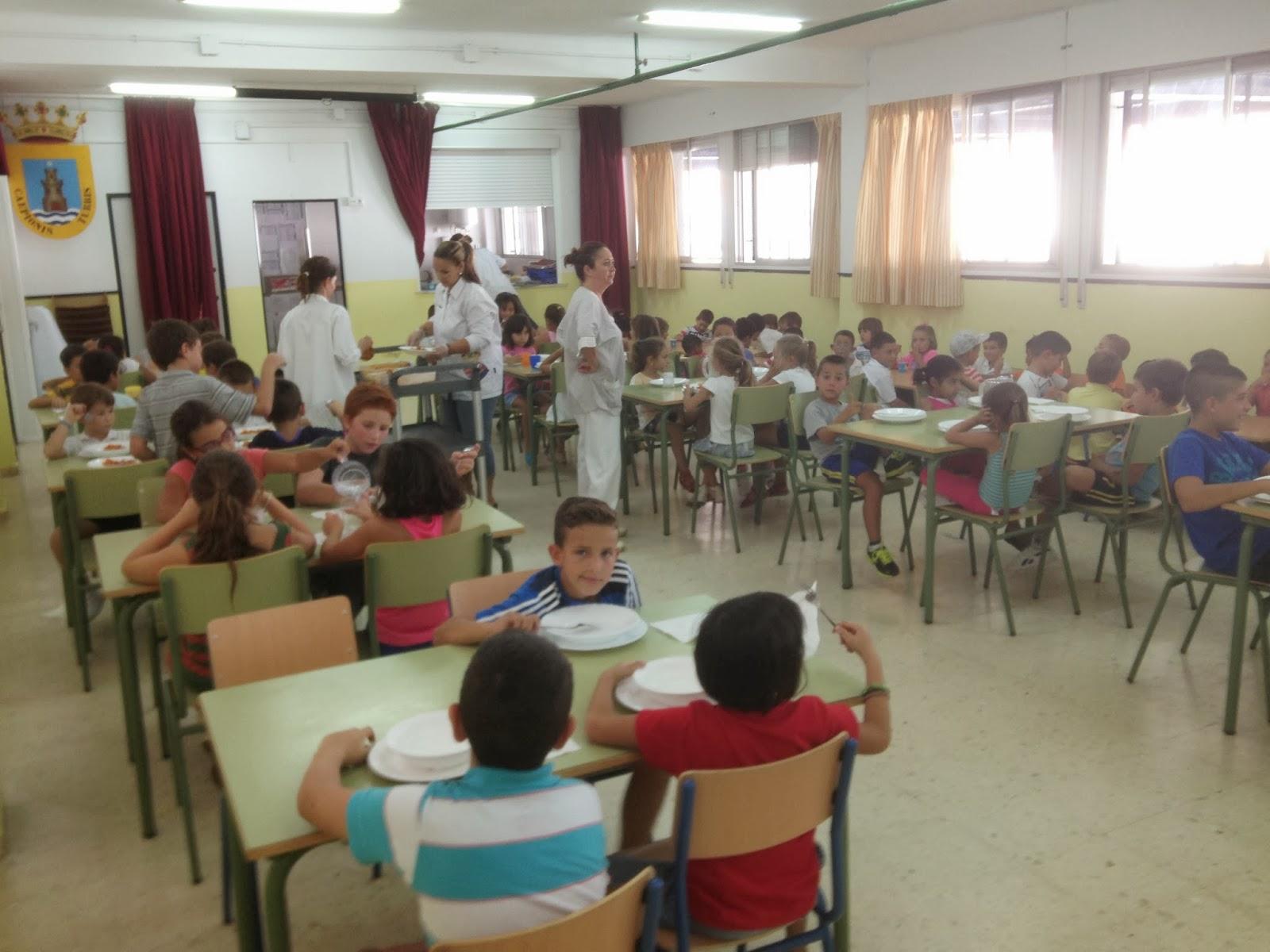 Ceip maestro manuel aparcero for Trabajo de comedor escolar