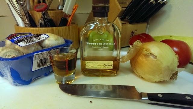 Bourbon Mushroom Sauce