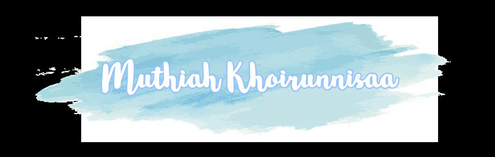 Muthiah Khoirunnisaa