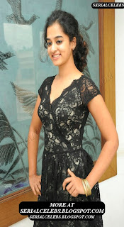 Nandita in black short dress