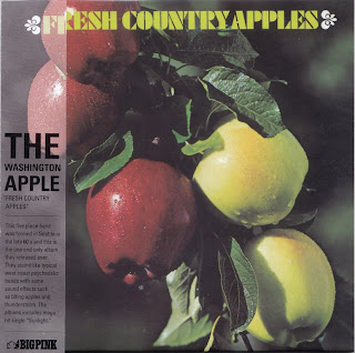 THE WASHINGTON APPLE - FRESH COUNTRY APPLES (DELICIOUS 1970) Kor mastering cardboard sleeve