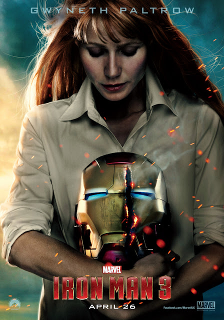 Iron Man 3 PEPPER POTTS Gwyneth Paltrow Character Banner