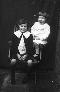 William Golding (right) with his Elder Brother Jose in c.1914