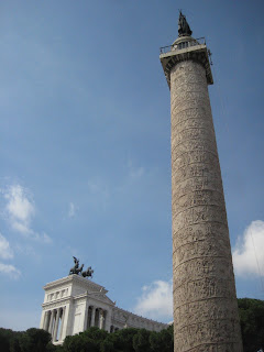 Trajan's Column depicting a Roman victory.