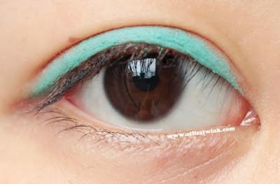 HEMA S/S 2013 Chalky eyeshader green