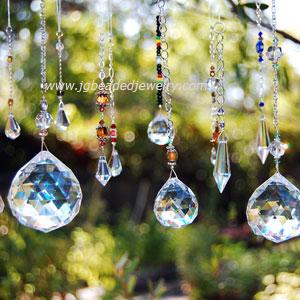 JG Beaded Jewelry Blog: Hanging Prism Crystal Sun Catchers