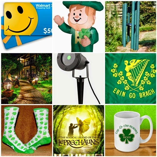 The Luck of The Irish St Patrick's Day #Giveaway