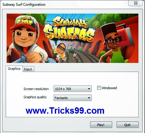 download subway surfers for computer/laptop free