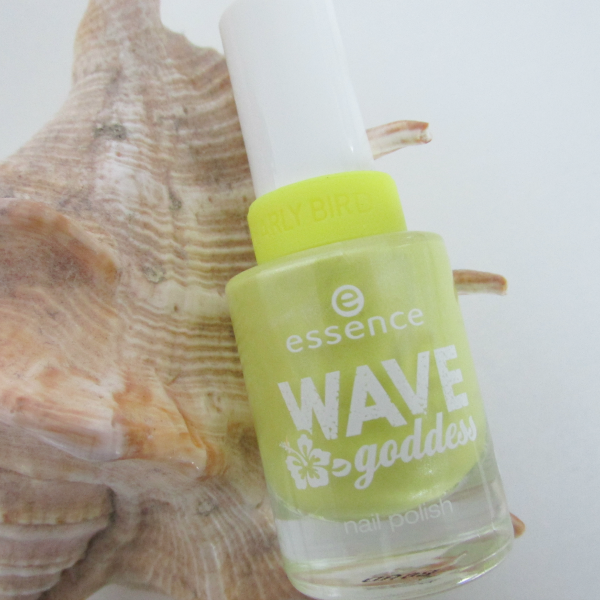 essence Wave Goddess Limited Edition nail polish