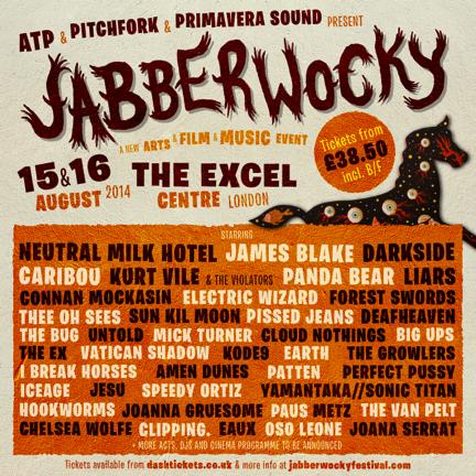 Liars Kurt Vile, Panda Bear Jabberwocky Festival