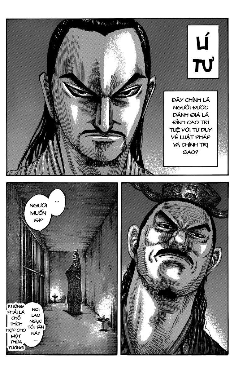Kingdom – Vương Giả Thiên Hạ chap 494 Trang 8